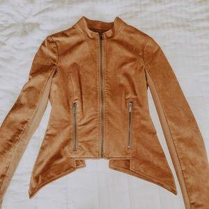BCBG camel color blazer